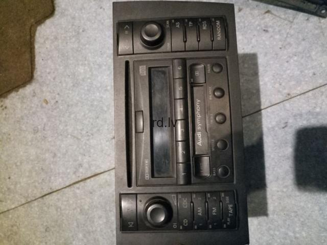 Audi a6 magnetola ar kodu