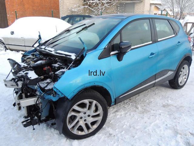 Renault Captur Lietotas auto rezerves daļas USED CAR SPARE PARTS K9K608 JR5332 TEGNE
