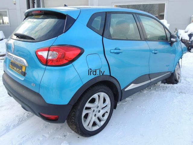 Renault Captur Lietotas auto rezerves daļas USED CAR SPARE PARTS K9K608 JR5332 TEGNE                              95.0 Euro €