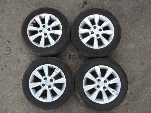 Hyundai i20 R15 6J 4x100 ET50 Alumīnija disku komplekts 52910-1J805 529101J805