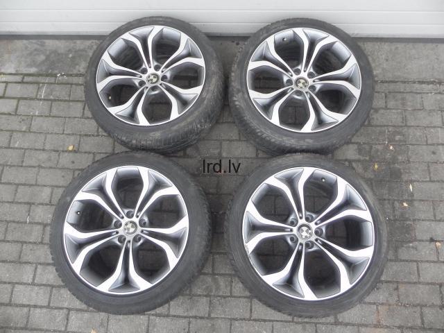 BMW X5 E70 X6 E71 Vieglmetāla disku R20 Styling 336 Replikas 6788010 6788011 36116788010